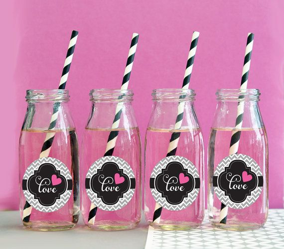 Parti lait bouteille récipient de verre avec sont parfaits pour les parties et les mariages et un contenant de boissons grand servir des boissons en.