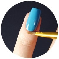 How to remove excess nail polish. #how-to #nail polish