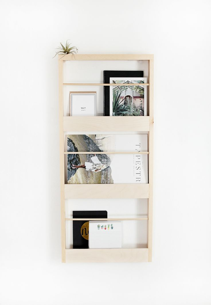 DIY Wood Wall Organizer