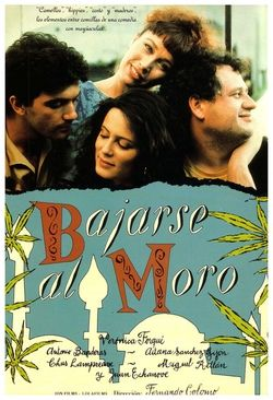 """Me parece a mi que el libro de esta película titulada """"Bajarse al Moro"""" es el único libro con que toda la clase hemos disfrutado y reído."""