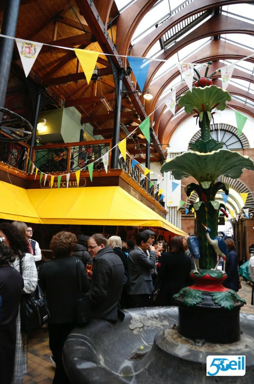 Delegates enjoying the surroundings of the English Market #EILGA2014