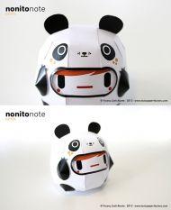 nonitonote-3D纸艺熊猫玩具