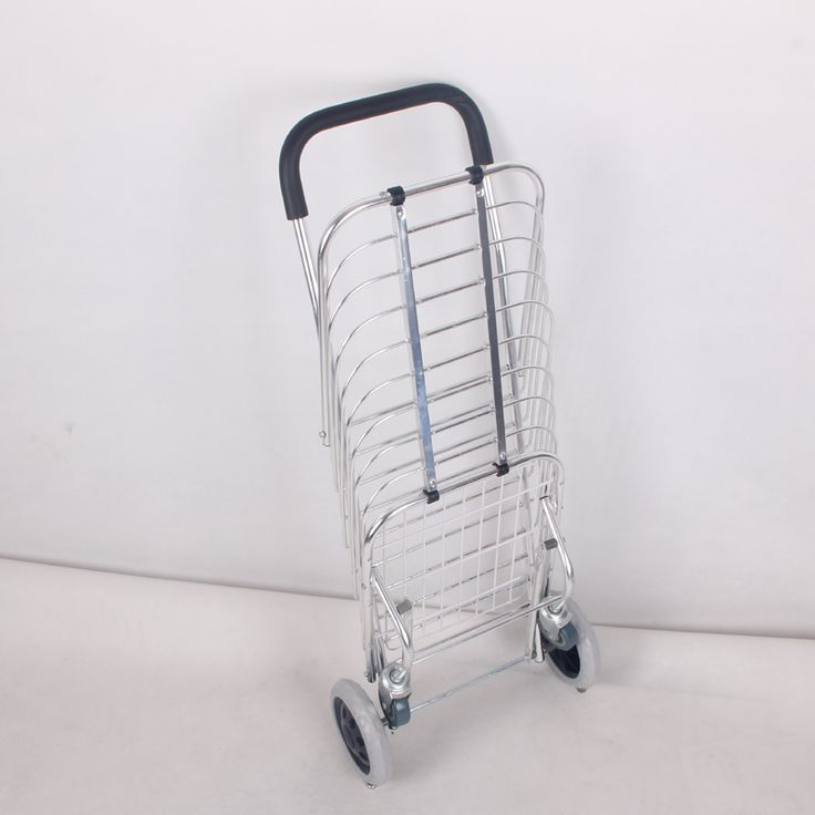Aluminum Folding Personal Shopping vegetable Cart With wheel