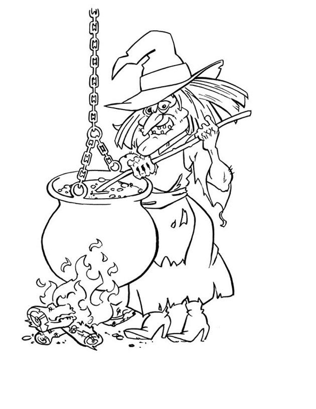 Scary Halloween Coloring Pages Adults : 161 best holiday worksheets and coloring images on pinterest