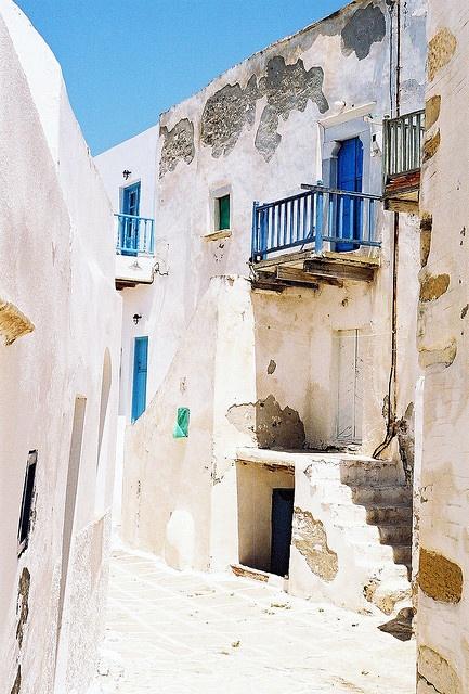 """Antiparos, Greece - """"Antiparos Village, Kastro"""" by orestis f, via Flickr"""