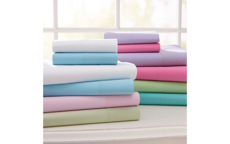 Dorm beds aren't always the most comfortable, but the PBTeen Classic Twin XL Sheets ($49) offer a generous fit (with plenty of room for a cushy mattress topper). Made of soft, durable fabric that didn't tear easily in our tests, the sheets come in a wide range of colors and prints.  - GoodHousekeeping.com