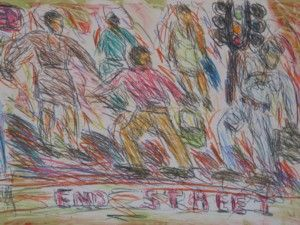 Choreograph I by David Koloane   DAVID KRUT PROJECTS