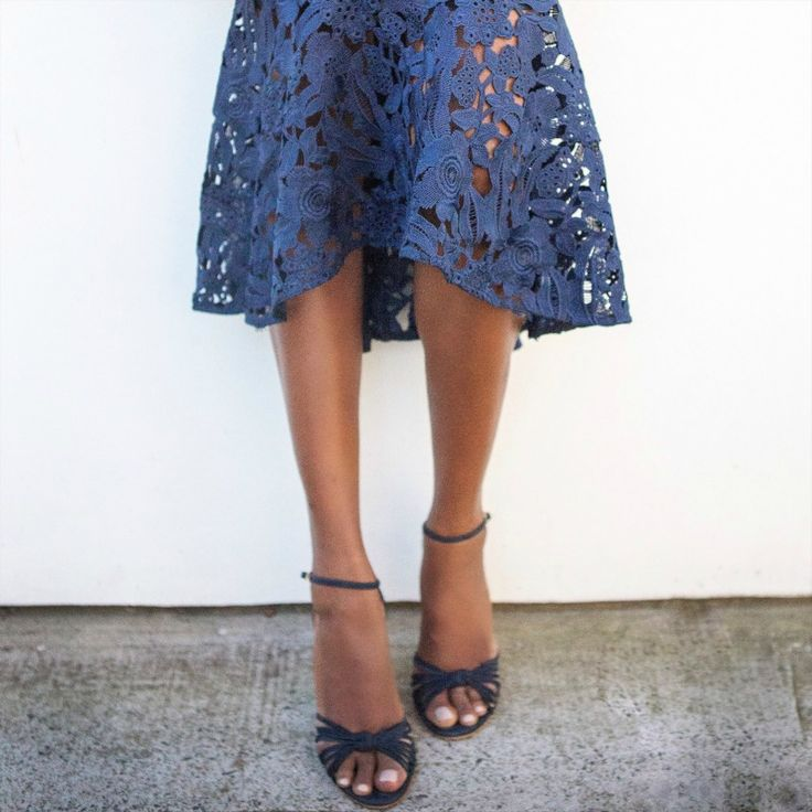 My Style: Anthea Crawford Guipure Lace Dress