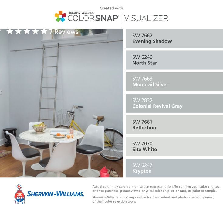 Sherwin Williams Evening Shadow Sw 7662 North Star Sw