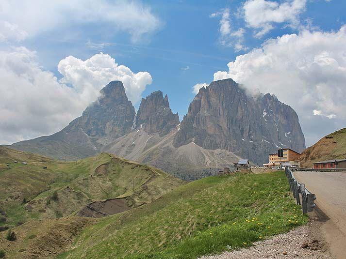 Pässe in Südtirol: Sellajoch