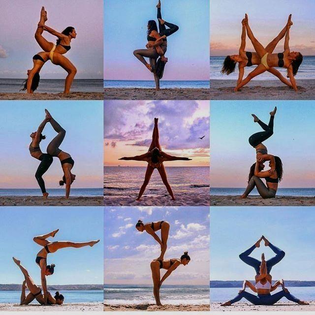 Yoga Asanas Names Acro Yoga Poses Partner Yoga Poses Yoga Poses Photography