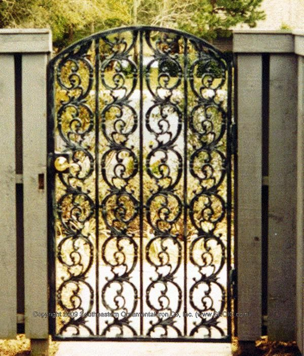 Image Result For Decorative Metal Garden Gates