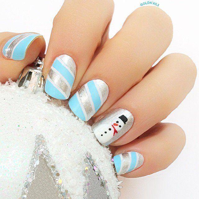Holiday Nail Art Ideas 2015 | POPSUGAR Beauty