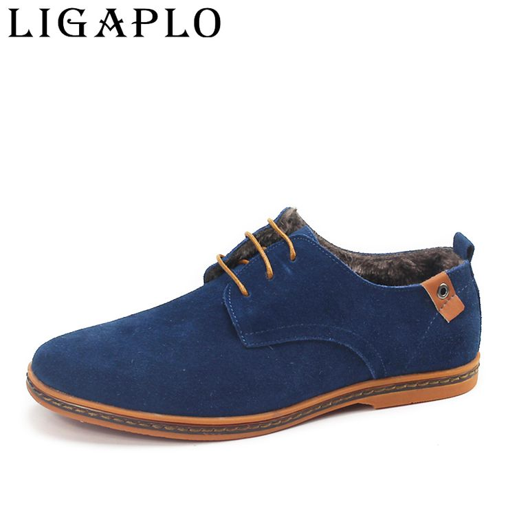 2016 New Fashion boots winter warm Men Shoes Leather Shoes Men's Flats Shoes Low  for men Oxford Shoes Free shipping #>=#>=#>=#>=#> Click on the pin to check out discount price, color, size, shipping, etc. Save and like it!