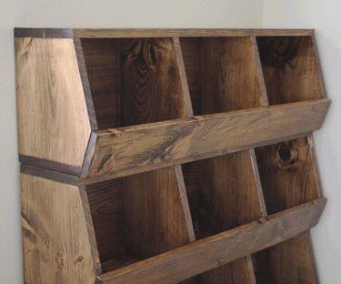 Build your own storage bins