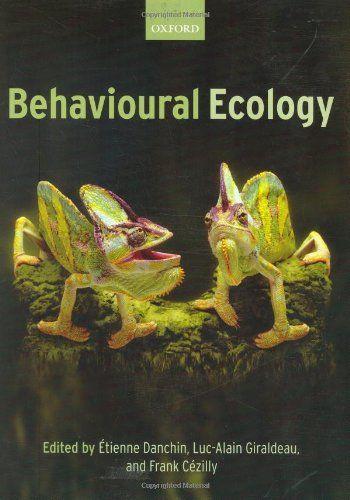 Behavioural Ecology de Etienne Danchin http://www.amazon.fr/dp/0199206295/ref=cm_sw_r_pi_dp_CAH.tb0DAGSJV