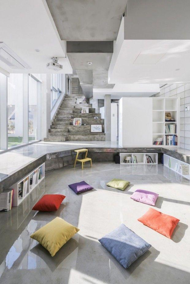 Maison contemporaine en Corée du Sud par Iroje KHM Architects - Journal du Design