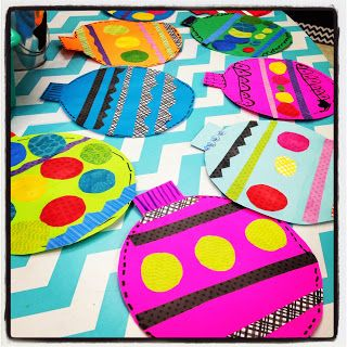 First Grade Blue Skies: Super cute and easy craft idea! Love