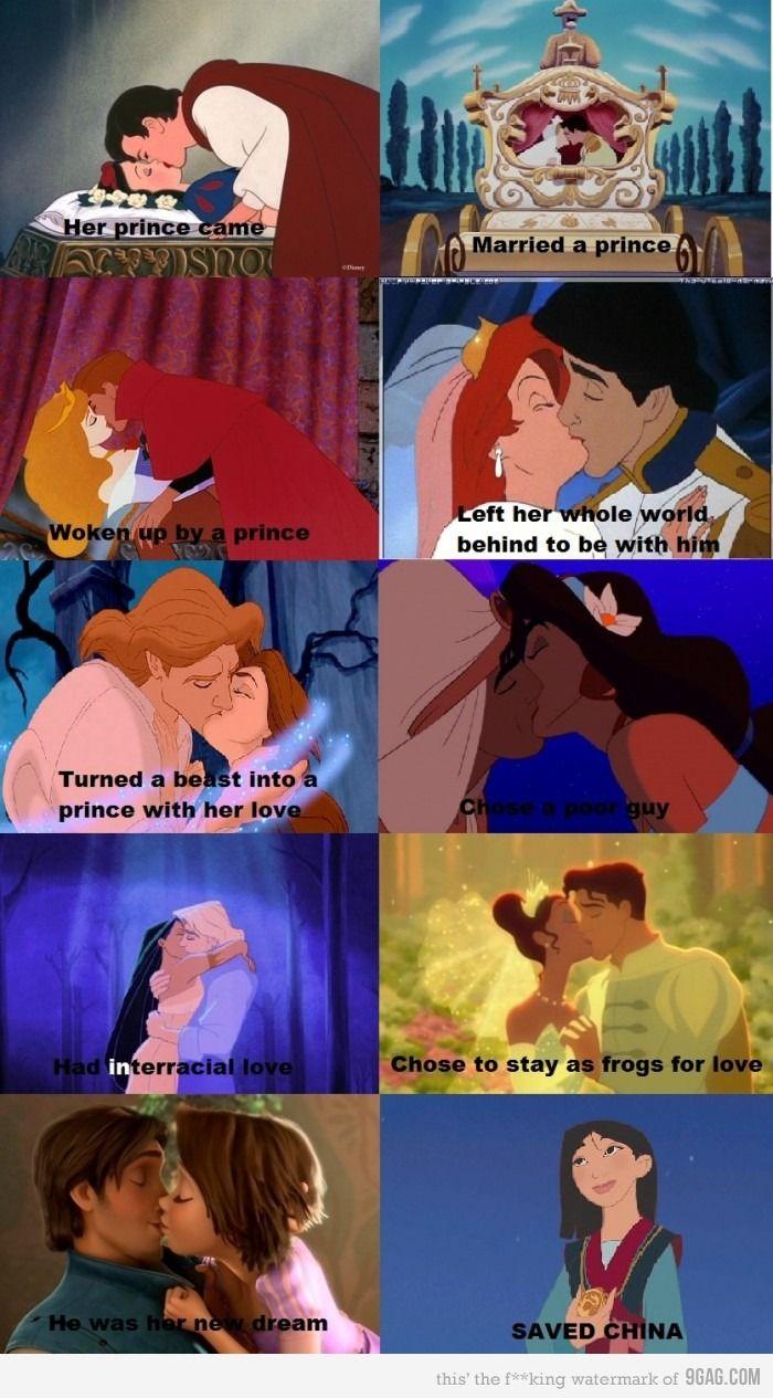 haha, girl power. Mulan- My favorite Disney movie!