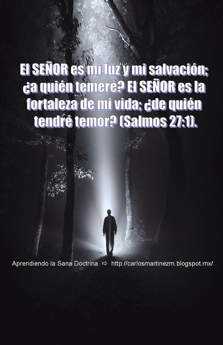 Carlos Martínez M_Aprendiendo la Sana Doctrina: Salmo 27:1