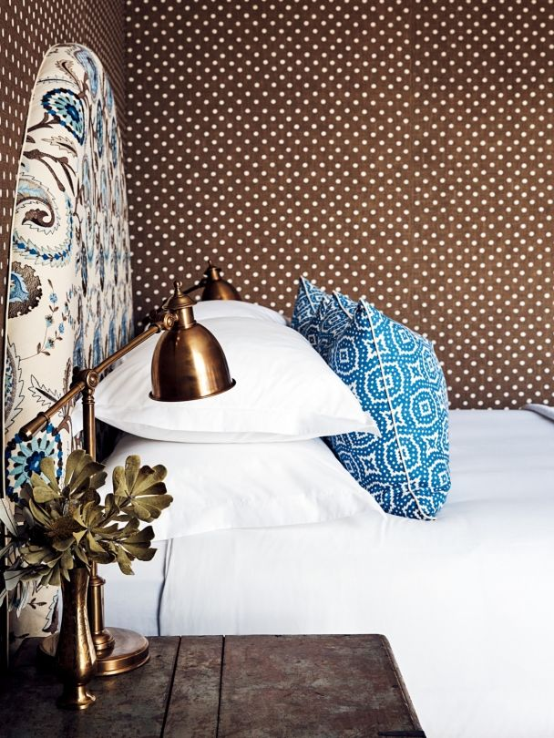 Halcyon house - beautiful use of colour & pattern, yet still very crisp & clean aesthetic.