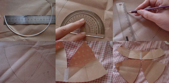 How to Make a Bra – part 1, drafting the pattern
