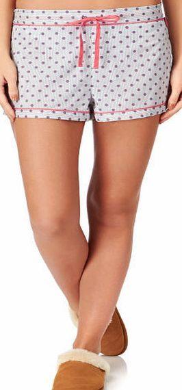 Calvin Klein Womens Calvin Klein Woven Pyjama Shorts - Polka Womens pyjama shorts