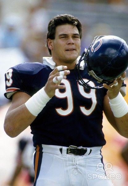 DAN HAMPTON | Chicago Bears lineman Dan Hampton defensive end Dan Hampton (99) in ...