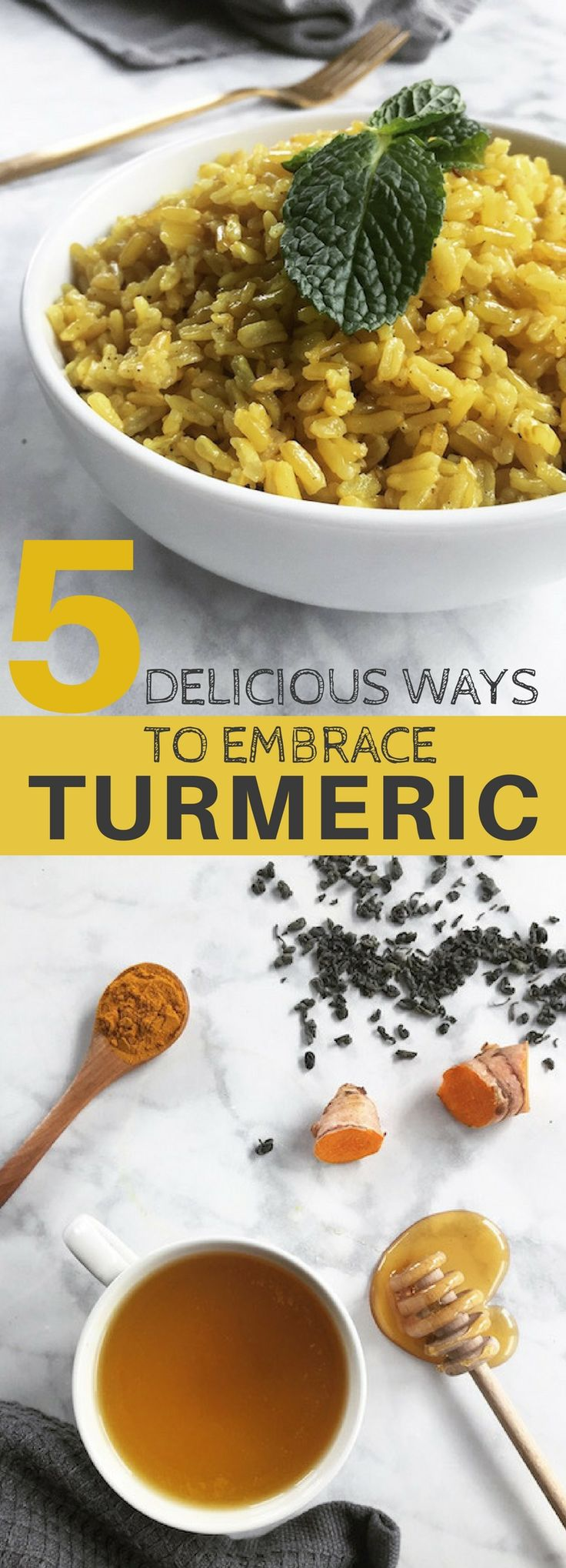 Five simple ways to add a dose of turmeric throughout the day. Turmeric can be found in many health stores today, either grounded or raw. It's important to purchase high-quality organic turmeric that is free from pesticides and other harmful ingredients. Since turmeric is so powerful, a small amount goes a long way.