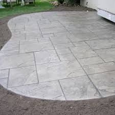 stamped concrete patio images - Google Search (Patio Step)