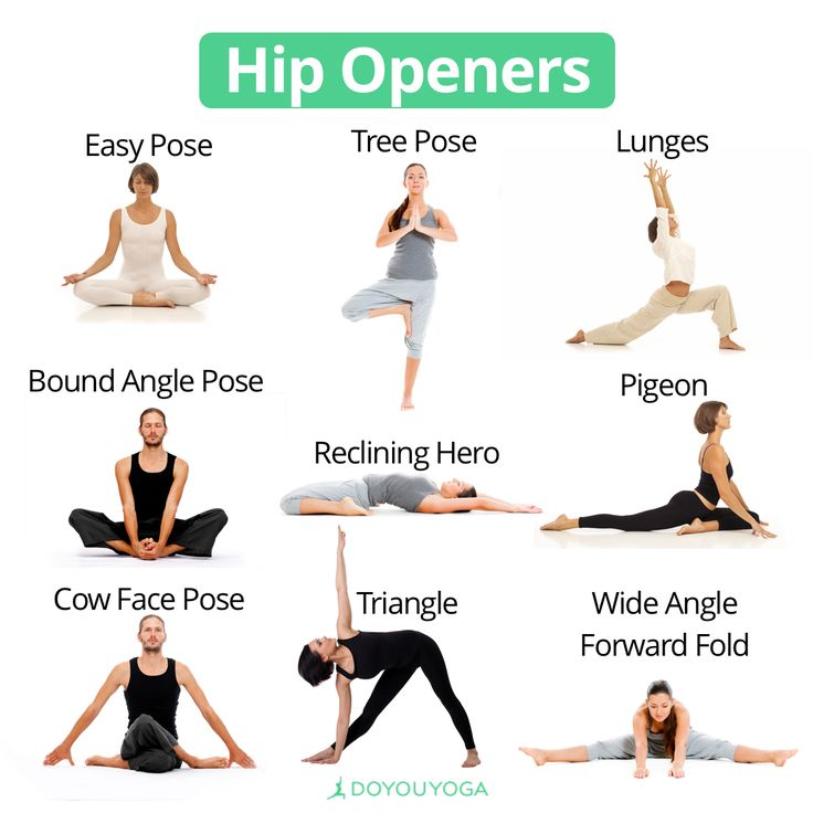 Allllllllllllll the stretches to release your tight hips!   What are your favorite hip openers?