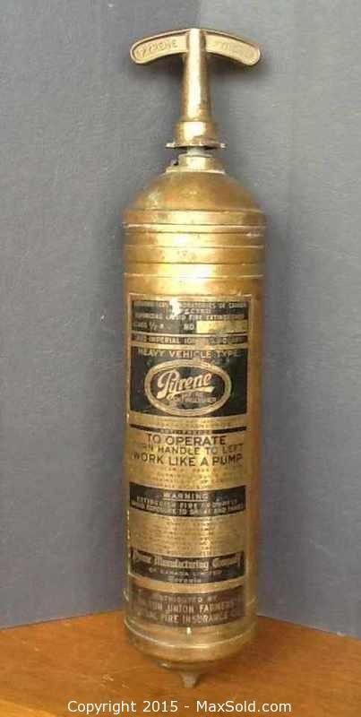 MaxSold - Auction: Toronto (Ontario, Canada) SELLER MANAGED Antiques, Collectibles & Art Online Auction - Roncesvalles Ave (Parkside Dr / The Queensway) ITEM: Small Fire Extinguisher