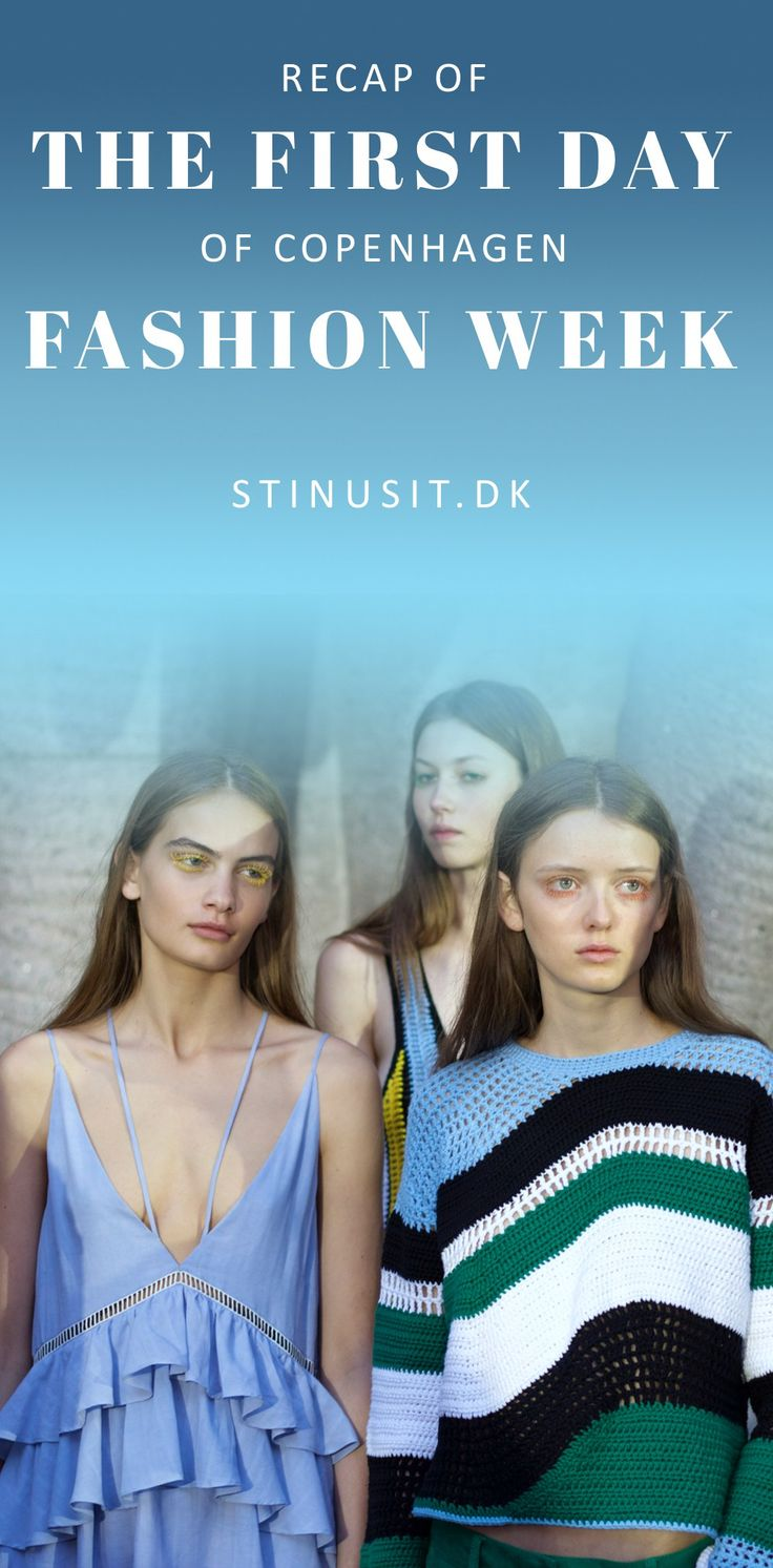 Fashion week diary: Day one What did I do? What did I eat? Which shows and events attended I? Well join us on Stinusit.dk and hear all about it! While you're there check out the free style guide on how to style 5 of the most trendy items at the moment - you can get it (for FREE) if you sign up on the blog! See you soon for lots of fashion!