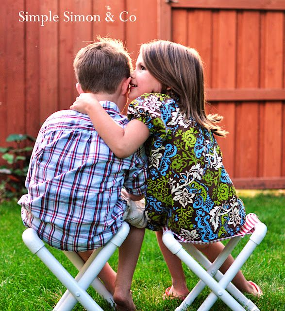 Simple Simon & Company: Summer Camp Chair Tutorial