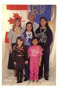 Previous Girl Guides of Canada uniforms for all branches...... Damn I hated wearing the dresses!