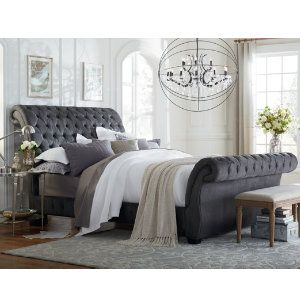 Best 25 Upholstered Beds Ideas On Pinterest Grey