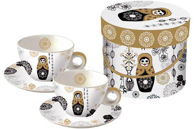 www.gifthaus.co.za Matryoshka Cappuccino