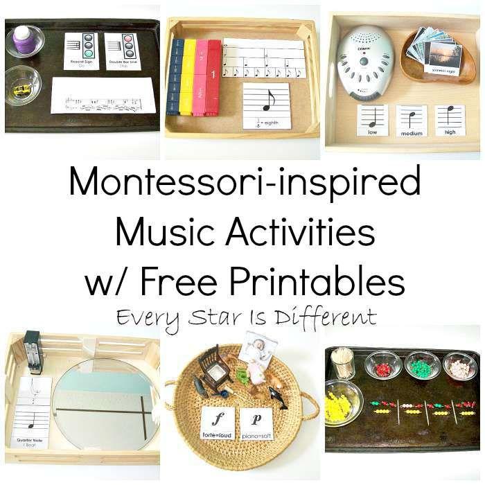 Every Star Is Different: Montessori-inspired Music Activities