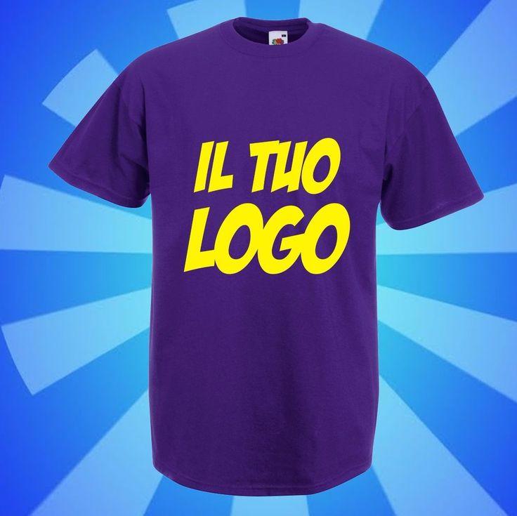 n. 100 Magliette in cotone COLORATO 100% - personalizzate - TUTTO COMPRESO!