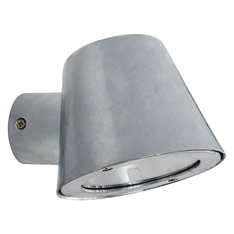 Buy John Lewis St Ives Mast Outdoor Wall Light, Galvanised Online at johnlewis.com