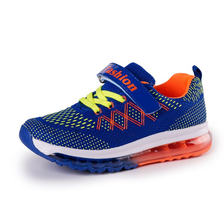 2017 Kids Running Shoes Boys And Girls Outdoor Lightweight Cushioning Sport Shoes Breathable Air Mesh Sneakers For Boys And Girl #Affiliate