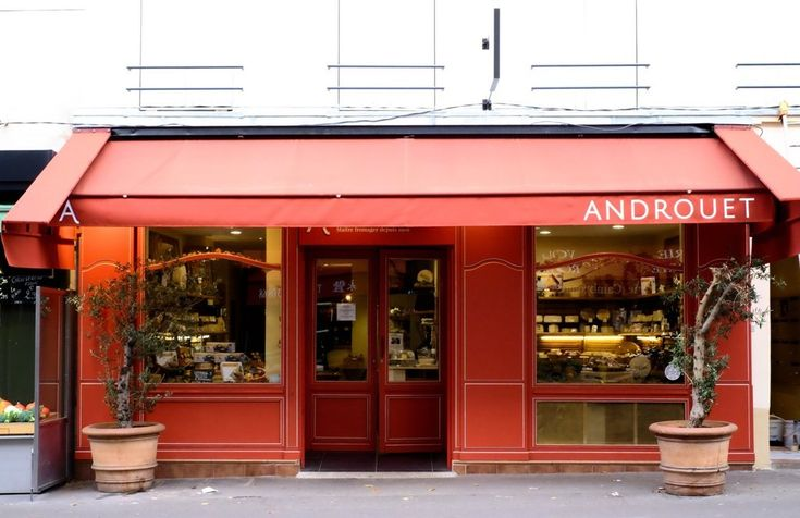 Cheese shop : Androuet in Paris 15