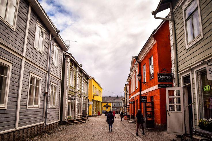 Vanha kaupunki, little old town in Porvoo, Finland. #porvoo #oldtown #finland #visitfinland