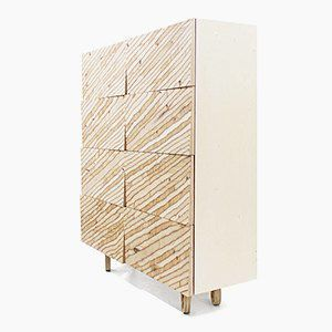 Chest of drawers <origami ply 4X2>, Archpole, Russia