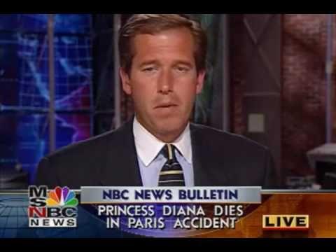 MSNBC BREAKING NEWS - PRINCESS DIANA CRASH & DEATH 08/31/1997 - YouTube