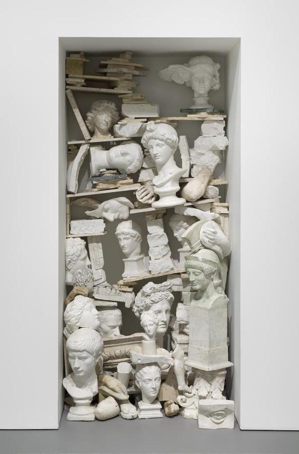 paricultures: Jannis Kounellis, Sans Titre, 1980, Hirshhorn museum.