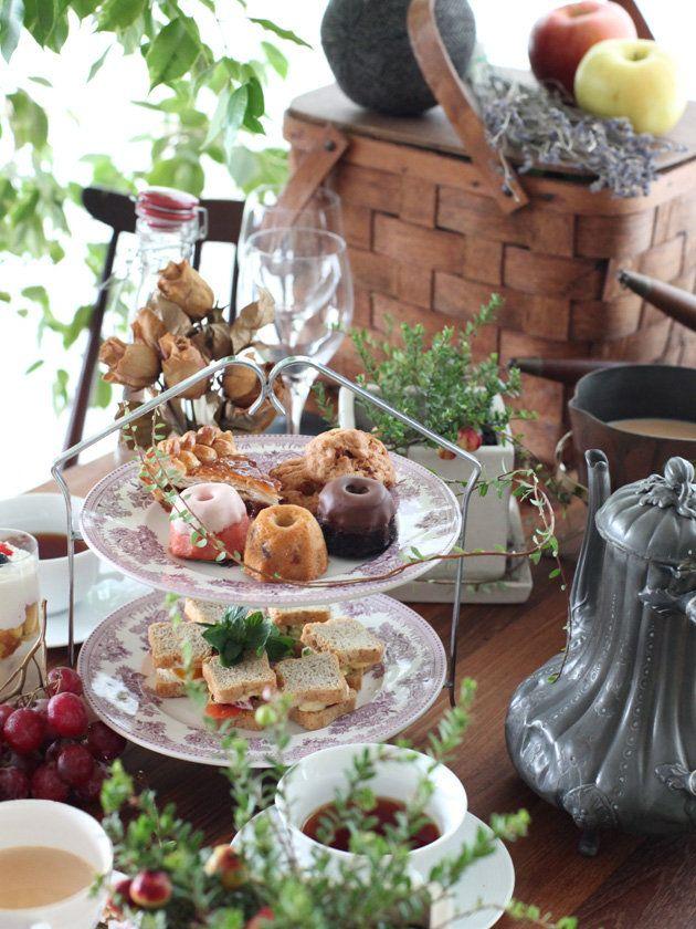 Kitchen Tool : 【バーレイ】ケーキスタンド/英国風テーブルスタイルで、アフタヌーンティーを! #elleatable #kitchentools