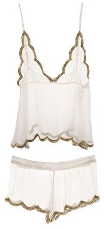 Ell & Cee SUNRISE LUXE GOLD CAMISOLE SET