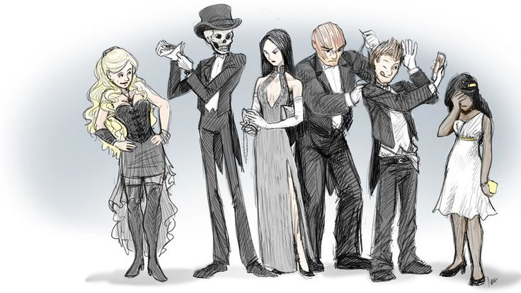 Skulduggery Pleasant - White Tie by jameson9101322.deviantart.com on @DeviantArt