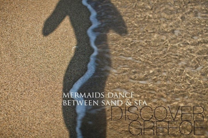 """ . . . Mermaids Dance Between Sand & Sea . . . """